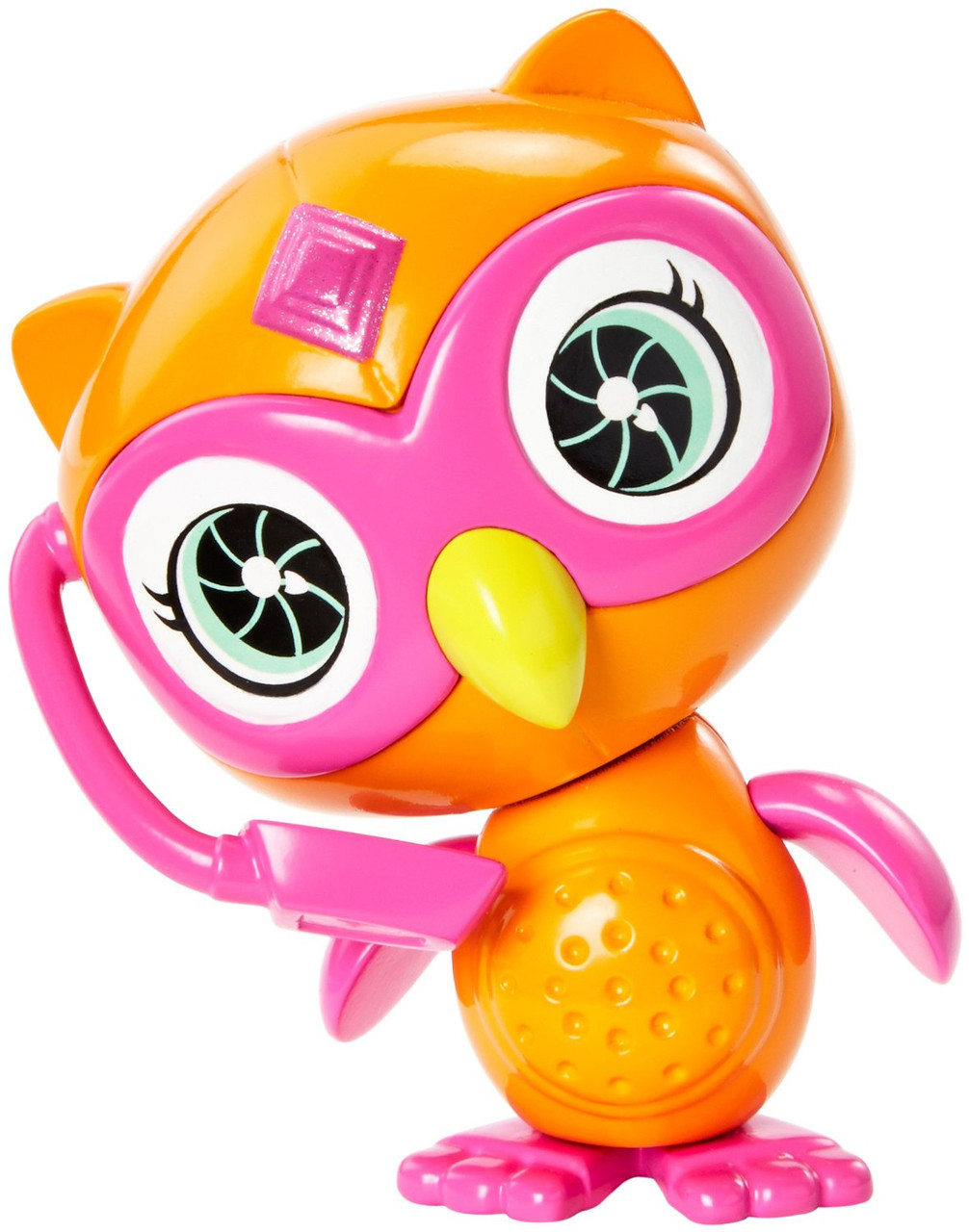 "Зверек - шпион Сова из м/ф ""Barbie: Шпионская история"" / Barbie Spy Squad Owl Figure"