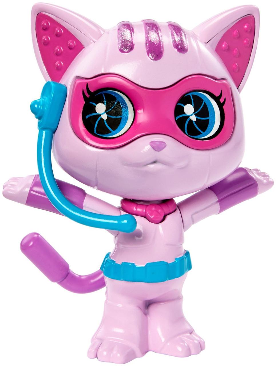 """Звір - шпигун Котик з м/ф """"Barbie: Шпигунська історія"""" / Barbie Spy Squad Cat Figure"""
