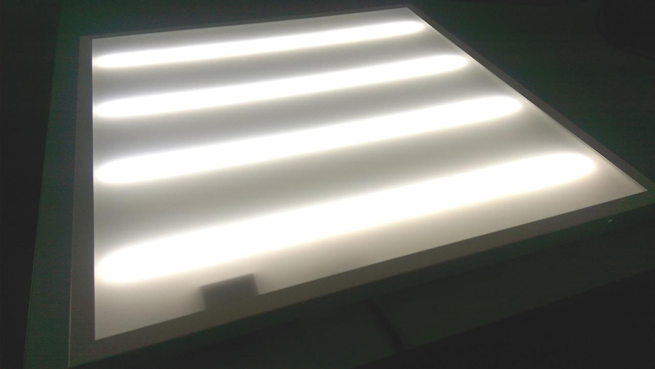 Светодиодная LED панель НАКЛАДНАЯ И ВСТРАИВАЕМАЯ 2В1 60х60см 36Вт 3000lm 6400К OPAL матовая