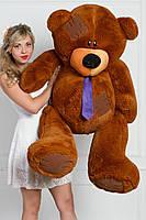 Мишка Тедди плюшевый коричневый 160 см
