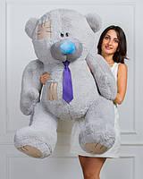 Мишка плюшевый Тедди серый 150 см