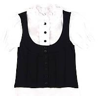 Блузка с коротким рукавом для девочки 146 р.