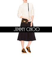 Jimmy Choo пополнил коллекцию женских сумочек через плечо Rebel Soft Mini новой моделью