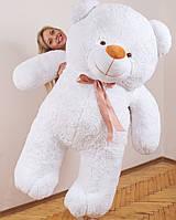 Большой плюшевый медведь Ветли белый 190 см