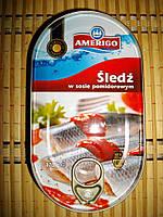 Селедка Amerigo в томатном соусе 170г