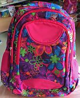 """Рюкзак школьный для девочек, """"Flowers"""""""