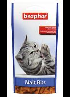 Beaphar  Malt Bits -подушечки для выведения шерсти из желудка 150г (13247)