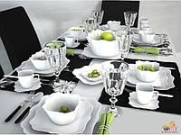 Сервиз столовый 19пр Luminarc Authentic White E6197