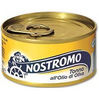 Тунец Nostromo в оливковом масле 80г