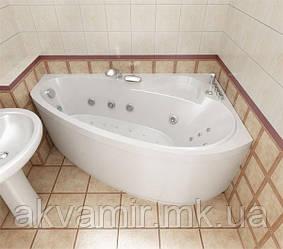 Ванна акриловая Тритон Пеарл-Шелл 160х104х60.5 левая/правая с каркасом и панелью