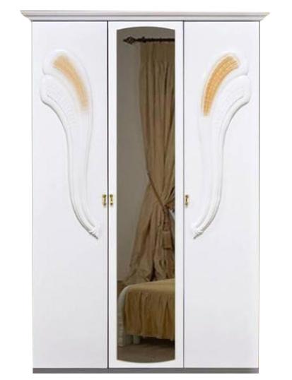 Шкаф 3Д Лола (зеркало) MiroMark