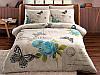 Комплект постельного белья ТАС Nina Blue ранфорс 220-200