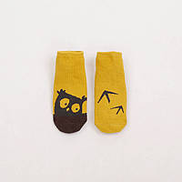 Носочки, носки с антискользящим покрытием, стоперами, тормозками, р. 9-24 мес., унисекс