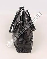 Женская сумочка кожаная из кусочков Tongle 8064, фото 3