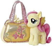 Пони в сумке Флаттершай Aurora World My Little Pony Fluttershy Cutie Mark Carrier