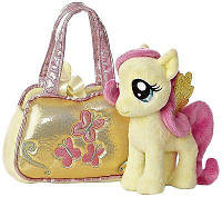 Пони в сумке Флаттершай Aurora World My Little Pony Fluttershy Cutie Mark Carrier
