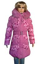 Куртка удлиненная снежинка, фото 2