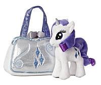 Пони в сумке Рарити Aurora World My Little Pony Rarity Cutie Mark Carrier