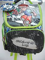 Детский школьный рюкзак для мальчика ранец портфель недорого плотный текстиль оптом 7 км Г1575/2449