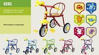 Детский трехколесный велосипед Малятко (0202)