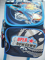 Детский школьный рюкзак для мальчика ранец портфель недорого плотный текстиль оптом 7 км Г1575/2450