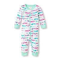 Пижамка - комбинезон для маленьких девочек 2-3-4 года  The Children's Place (США)