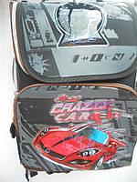 Детский школьный рюкзак для мальчика ранец портфель недорого плотный текстиль оптом 7 км Г1575/2451