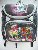 Детский школьный рюкзак для девочки ранец портфель недорого плотный текстиль оптом 7 км Г1575/2454