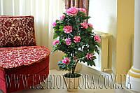 Искусственное растение Куст Пиона