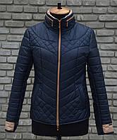 Демисезонная женская стеганная куртка Ричи, р 44-54, разные цвета, фото 1