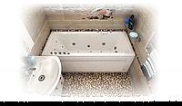 Ванна акриловая Тритон Валенсия  1700х750х650 (ванна + каркас + лиц.экр. + слив-перелив)