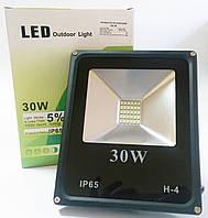 Светодиодный прожектор 30W ECO серия ES-30-01 6400K 1650Lm SMD