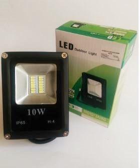 Светодиодный прожектор 10W ECO серия ES-10-01 6400K 550Lm SMD