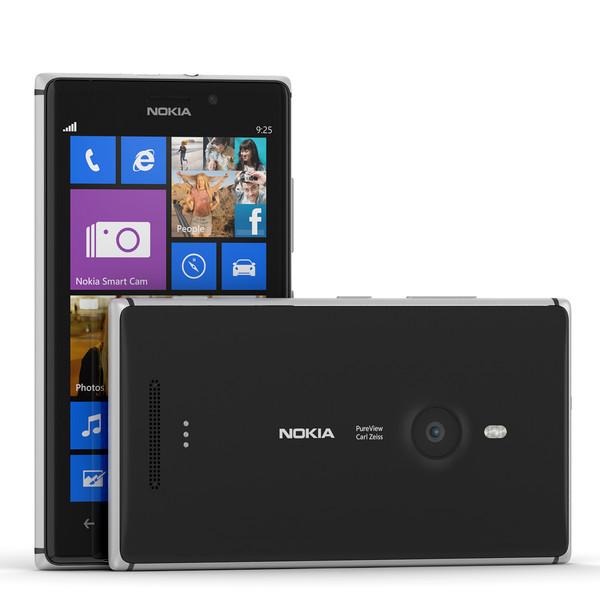 Смартфон Nokia Lumia 925 (Black)
