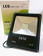 Светодиодный прожектор 50W ECO серия ES-50-01 6400K 2750Lm SMD