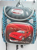 Детский школьный рюкзак ранец для мальчиков портфель недорого плотный текстиль оптом 7 км Г1575/2461
