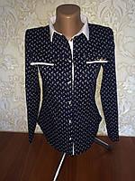 Модная рубашка для девочки подростка