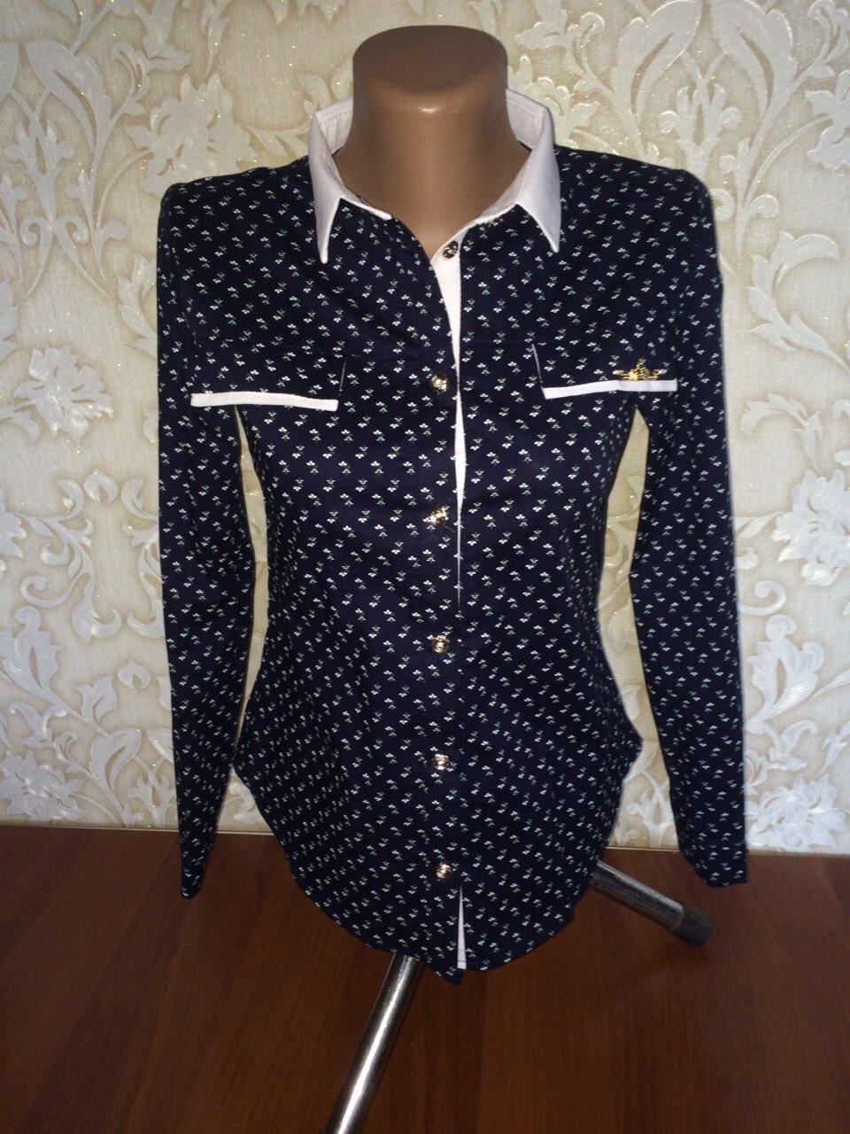 a5e2047a204f8f1 Модная рубашка для девочки подростка - Интернет-магазин