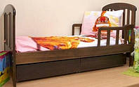 Кровать подростковая Верес Соня без ящиков (орех)