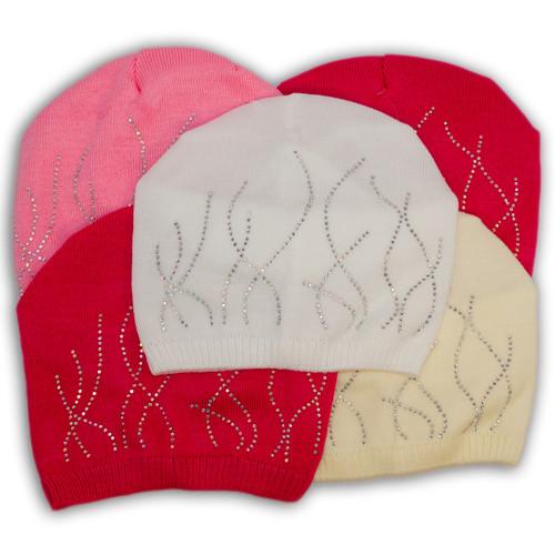 Вязаная шапка для девочки