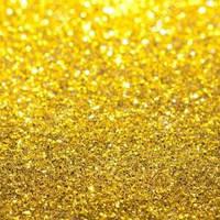 Глиттер золотой Light Gold (0,5мм) 1/52, 1 кг