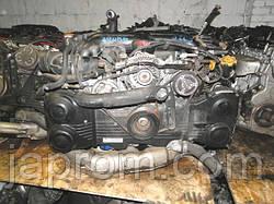 Мотор двигатель SUBARU 2.0T EJ20T LEGACY пластиковый колектор
