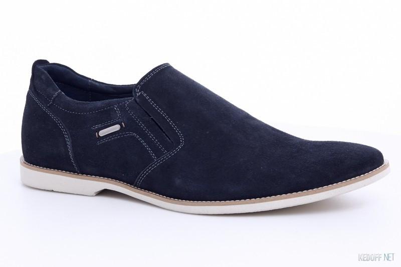 Туфли классические замшевые Affinity 1200-32  45  синий