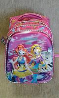 Рюкзак школьный для девочки розовый, качественный