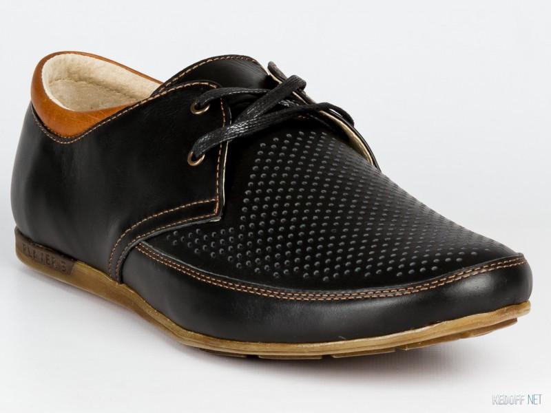 Летние туфли комфорт Affinity 1292-110 43  черный