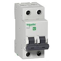 Автоматический выключатель Schneider Electric Easy9 С, 6A, 2P