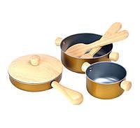 """Деревянная игрушка """"Кухонная посуда"""", PlanToys"""