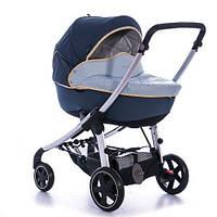 Универсальная коляска Bebe Confort Elea с люлькой Windoo dress blue
