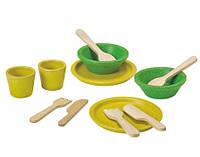 """Деревянная игрушка """"Набор столовой посуды"""", PlanToys"""