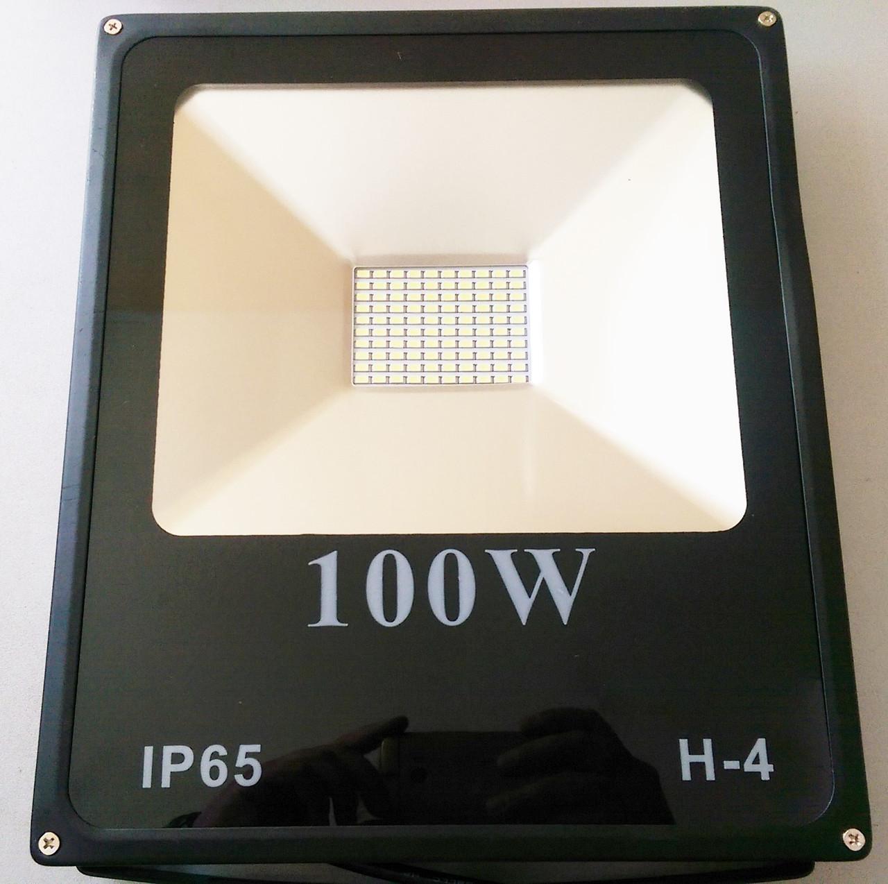 Светодиодный прожектор 100W ECO серия ES-100-01 6400K 5500Lm SMD !